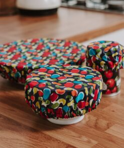reusable bowl cover set