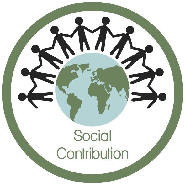Social Contribution Icon